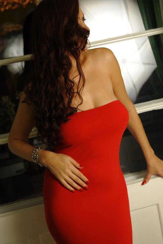 high class escort berlin, vip escort lady in red